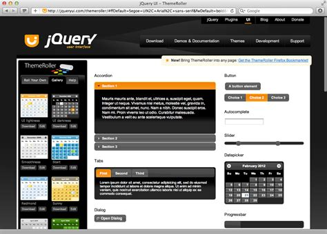 jquery themes gallery image gallery jquery ui