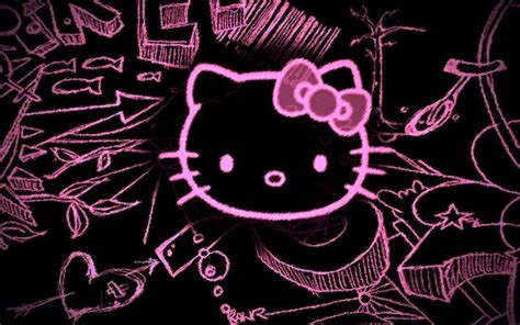 hello kitty rock wallpaper 30 hello kitty backgrounds wallpapers images design
