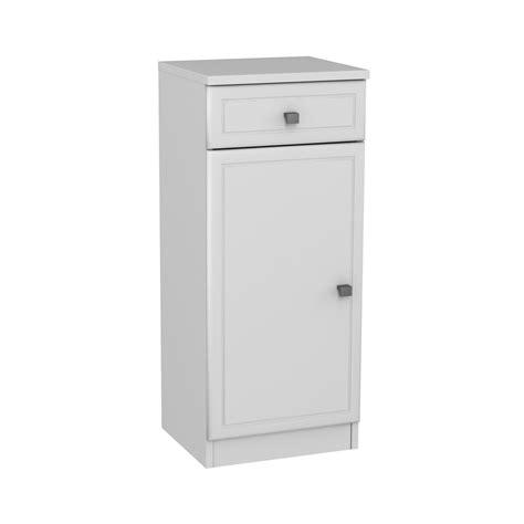 meuble bas l 35 x h 82 x p 31 cm blanc galice leroy merlin