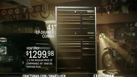 craftsman pro series tool storage  smart lock tv