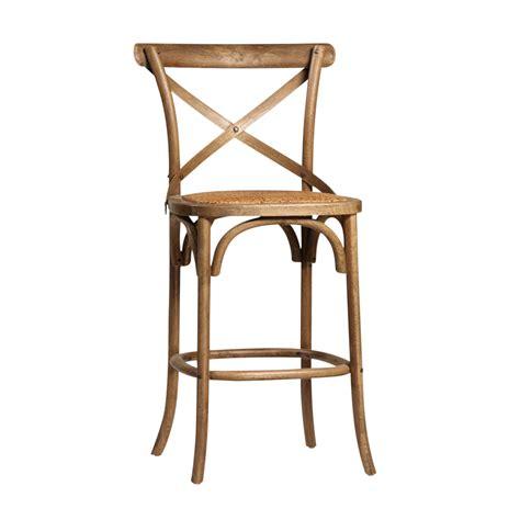 Rattan Seat Bar Stools by Rattan Seat Bar Stool Chairish