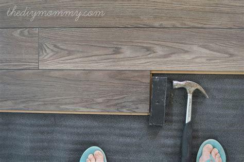 allen roth laminate flooring installation installing laminate flooring by the diy allen