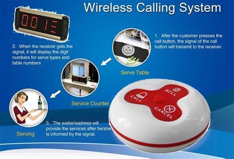 restaurant wireless calling system fair value it solutions