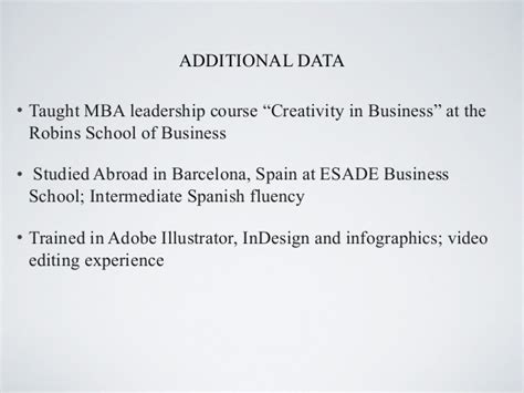 Additional Courses For Mba Marketing by Mba Retail Marketing Resume