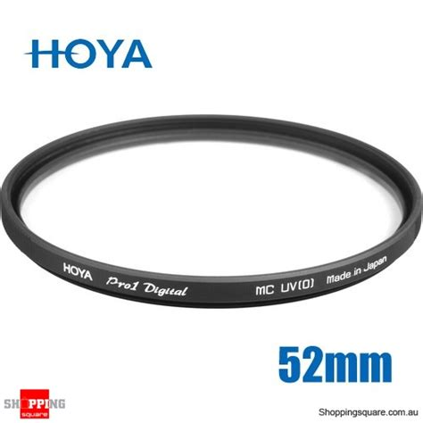hoya ultraviolet uv pro 1 digital filter 52mm shopping shopping square au