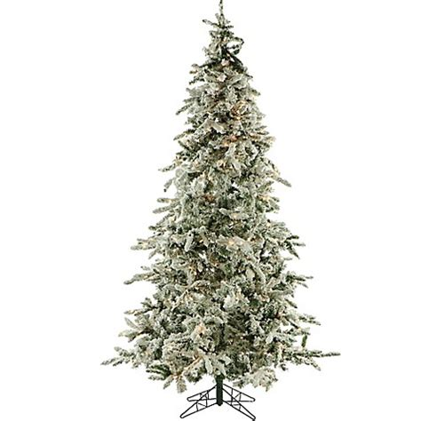 colorado pine or aster pine artificial christmas tree fraser hill farm 7 5 foot pre lit clear mountain pine artificial tree bed bath beyond