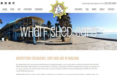 Wharf Shed Geelong by Wharf Shed Cafe Goop Digital