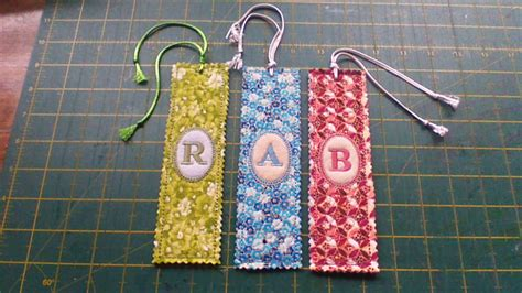 Quilted Bookmarks by Personalized Quilted Bookmark Lindy Originals