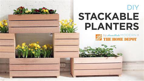 vertical garden   diy stackable planters youtube