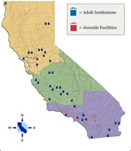 california state prisons map downsizing the prison industrial complex berkeley news