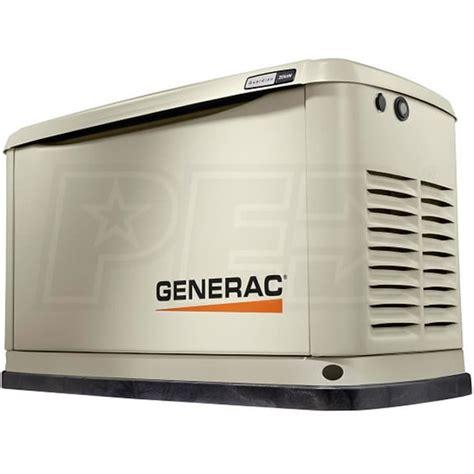 generac guardian 20kw aluminum home standby generator