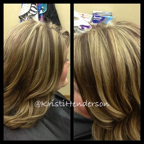 blonde with copper lowlights blonde highlights with copper brown lowlights hair by