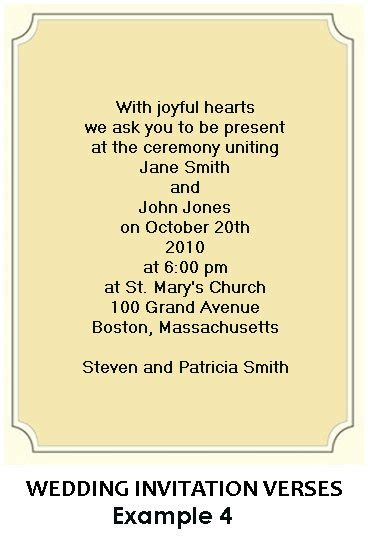 Ee  Wording Ee   For  Ee  Wedding Ee   Invitations