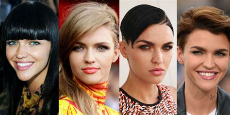 ruby rose before after haircuts ruby rose long hair fashion inspiration for most women