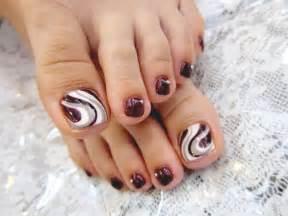 Pedicure nail art designs for fall