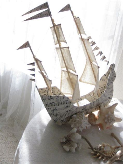 How To Make A Paper Mache Boat - 184 best images about paper mache on lorraine