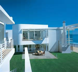 Beach Home Designs Luxury Beach Houses Oceanfront Design With White