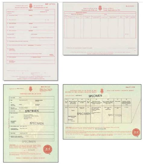 sle of birth certificate uk birth certificate reference number