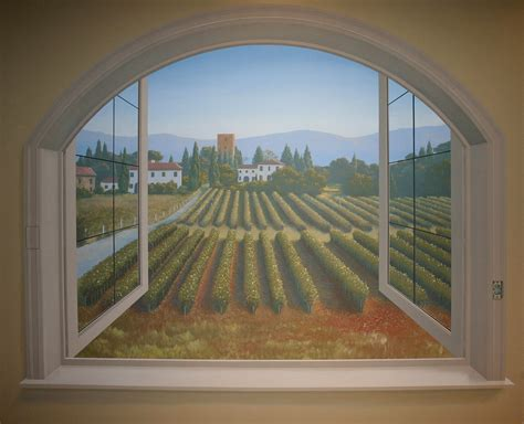 Window L trompe l oeil windows jt illustrations
