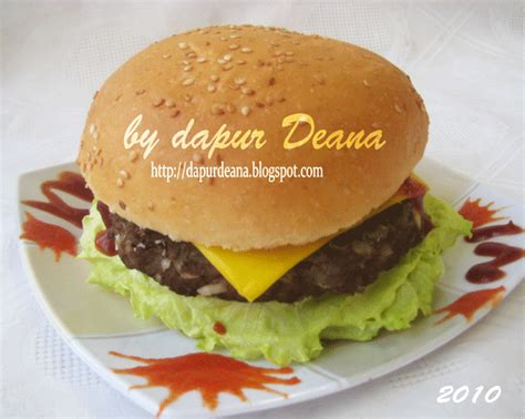 Wajan Burger dapur deana burger