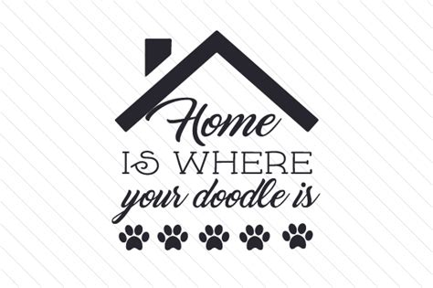 doodle bug doodle bug your house is on home is where your doodle is creative fabrica