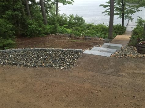 new lakefront landscape gets a thumbs up miracle farms landscaping nh