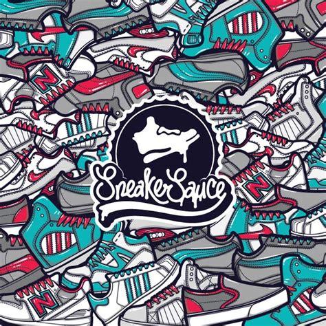 sneaker logo design sneaker sauce maxime archambault