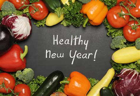new year fruits and vegetables for new healthy year make new food resolution of adding