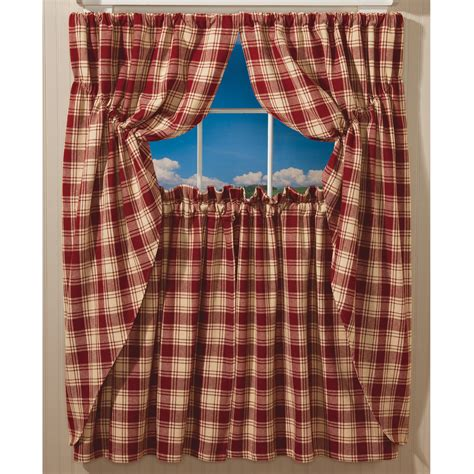 Plaid Curtains For Living Room Style Of Plaid Curtains For Living Room Create Awesome