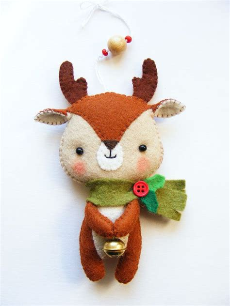 how to make small cute ornaments best 25 felt ideas on