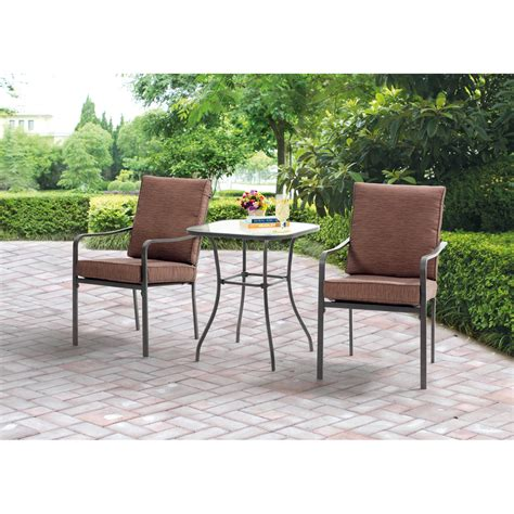 Patio Dining Sets For 4 Aqua Glass 5 Patio Dining Set Seats 4 Walmart