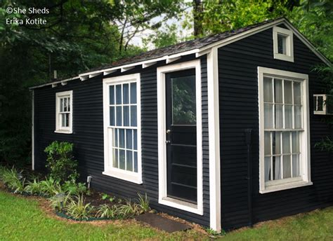style your she shed what the sheds going on she sheds erika kotite