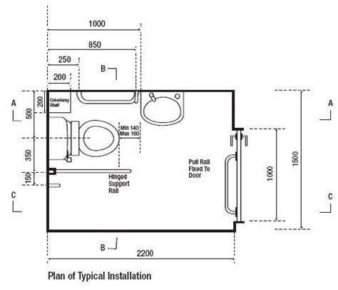 Bathroom Dimensions For Disabled Document M Blue Complete Fully Disabled Doc M Toilet Basin