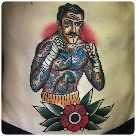 traditional boxer tattoo 25 best ideas about boxer on