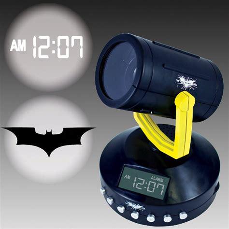 batman signal projection clock