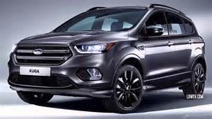 Ford Kuga Usa 2017 Ford Kuga Suv Arrives In Europe Prices And Specs