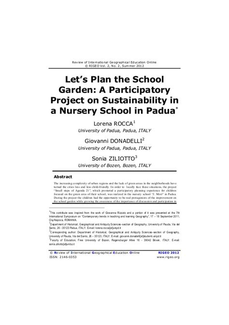 nursery business plan template let s plan the school garden a participatory project on