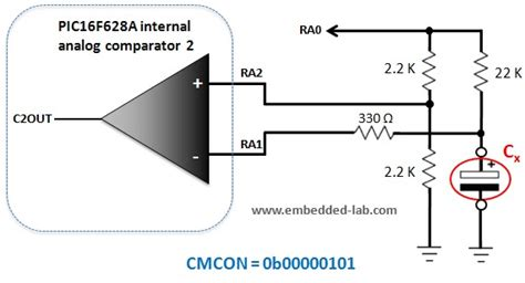 capacitance meter principle a digital capacitance meter using microcontroller embedded lab