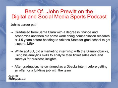 Arizona State Mba Finance by Episode 50 Of The Dsmsports Podcast W Prewitt