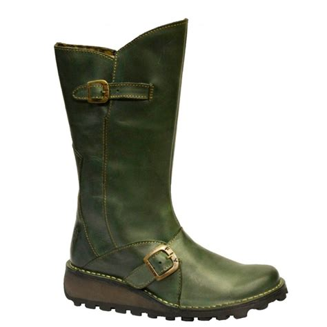 fly boots fly fly mes green osf p210315068 womens