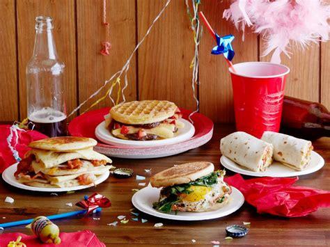 breakfast comfort food hangover breakfast sandwiches food network easy