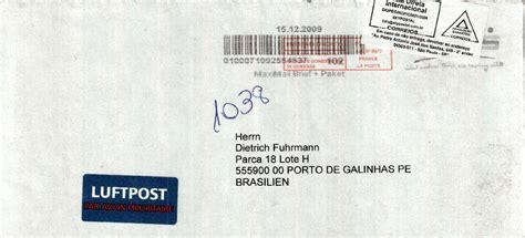 Brief Schweiz Nach Deutschland Dauer Philaseiten De Postlaufzeiten Immer Sch 246 N Langsam