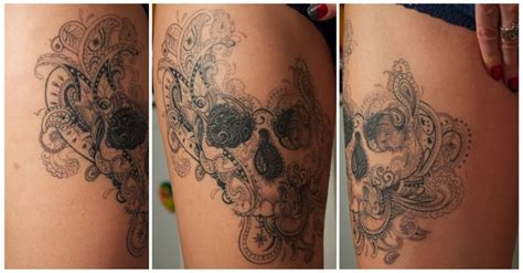 under my skin tattoo 25 best ideas about lace skull on