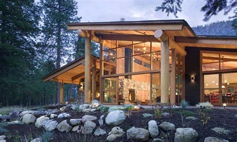 Small Mountain Cabin Modern Mountain Cabins Designs Small Design A Mountain House