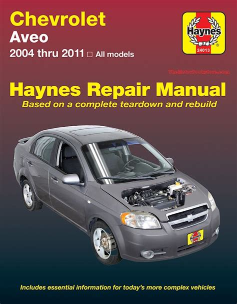 service manual car repair manuals download 2006 chevrolet silverado 3500hd electronic toll chevy aveo service repair manual by haynes 2004 2011