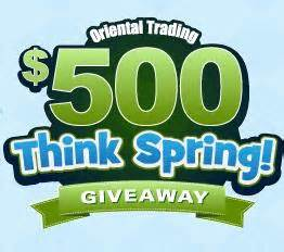 Oriental Trading Giveaway - oriental trading giveaway 500 and 100 gift cards