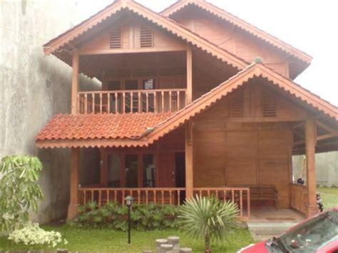 membuat rumah tingkat dari kayu gambar desain rumah kayu modern gambar rumah idaman