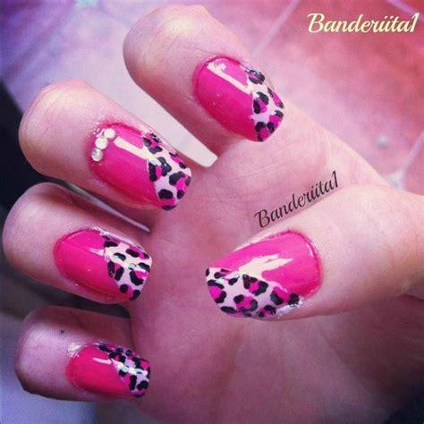imagenes de uñas decoradas animal print u 241 as con animal print tutorial youtube