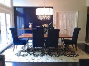Dining Room Chairs In Blue Navy Blue Dining Room Chairs