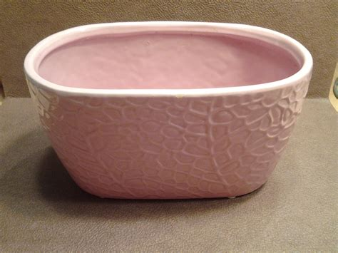 Oval Planter by On Sale Cottage Style Large Pink Pottery Oval Planter With
